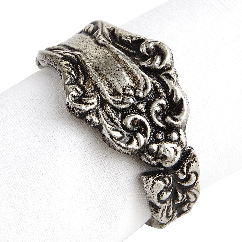 Vintage Silverware Napkin Ring