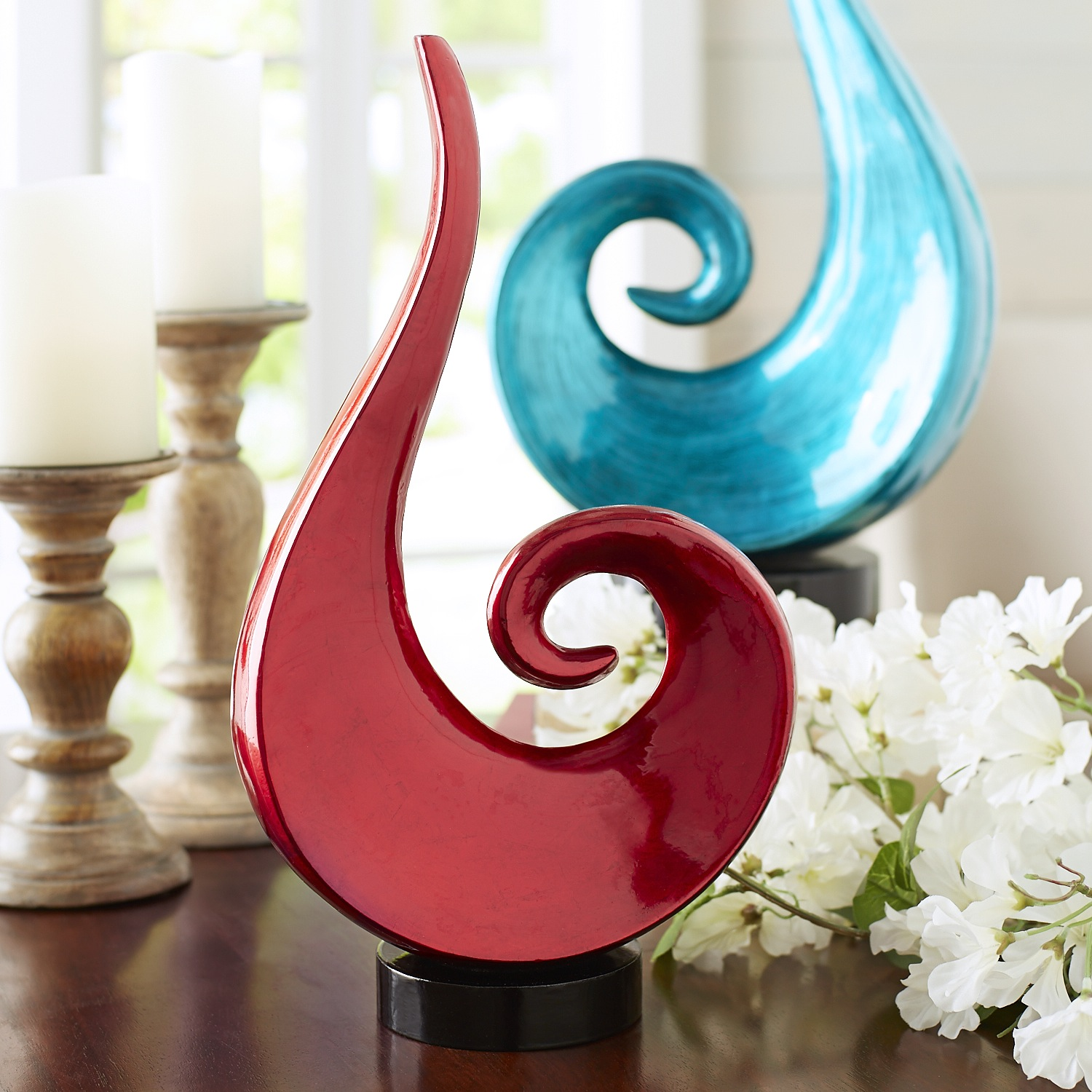 Red Lacquerware Flame