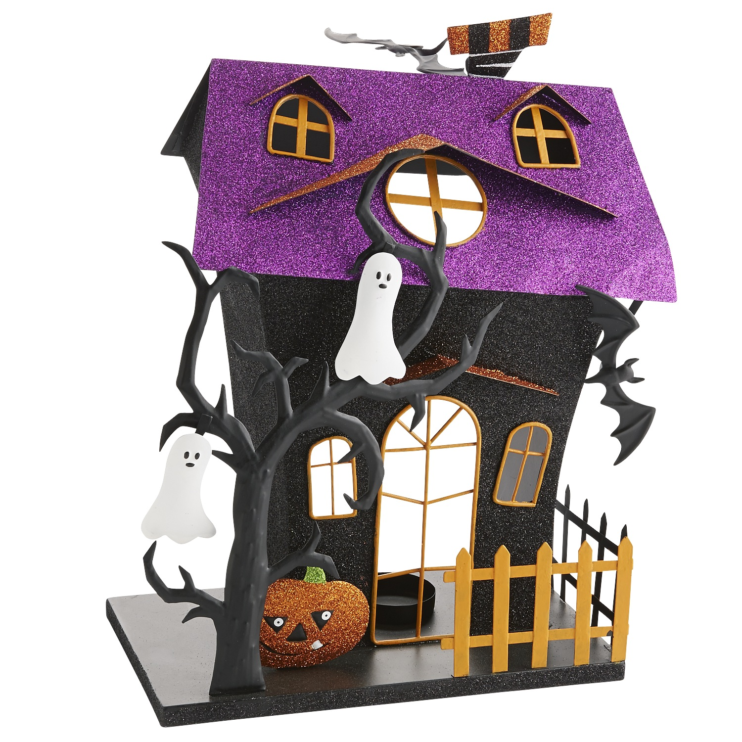 Haunted House Tealight Holder