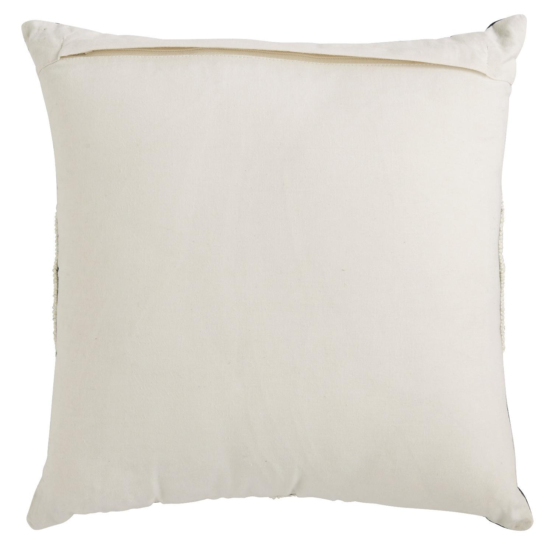 Portica Beaded Medallion Indigo Pillow
