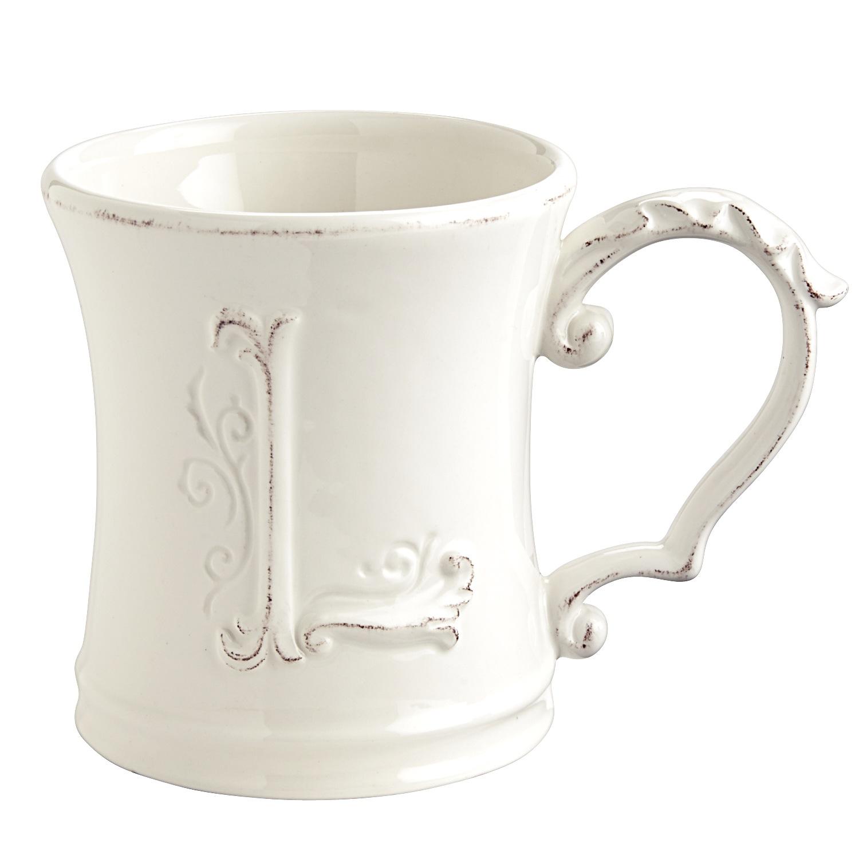 Elizabeth Monogram Mug - L