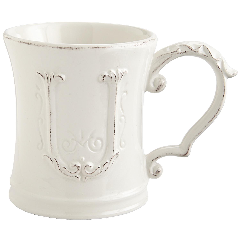 Elizabeth Monogram Mug - U