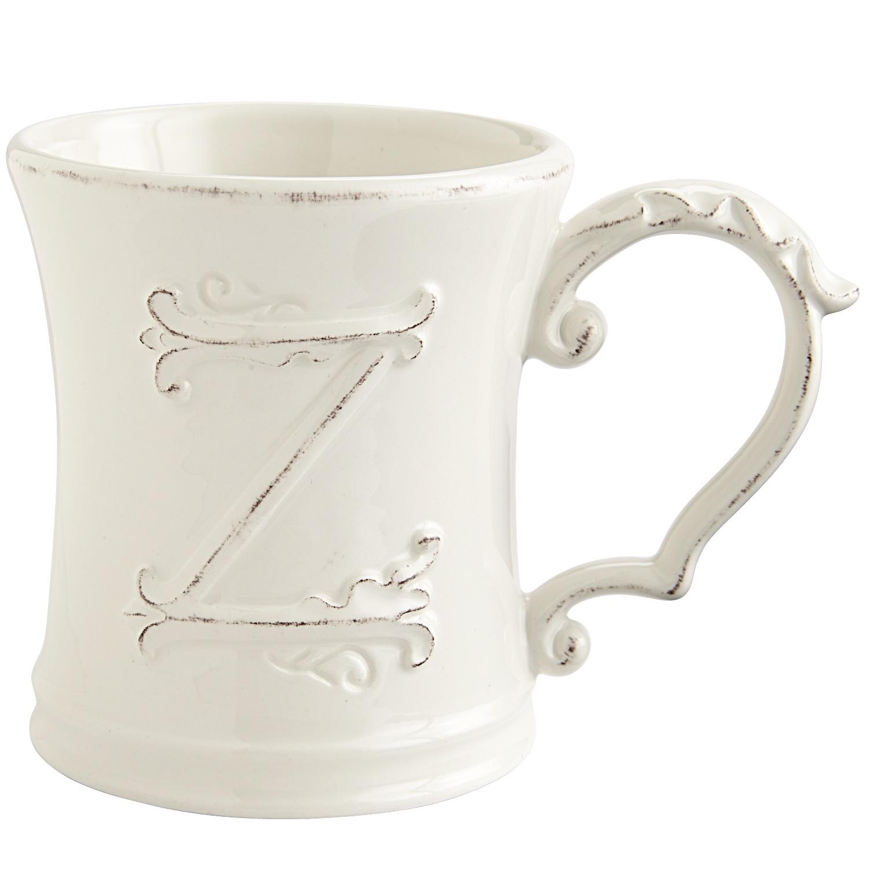 Elizabeth Monogram Mug - Z