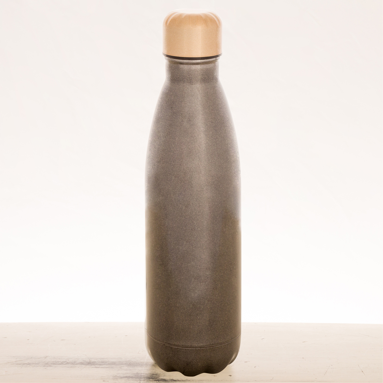 Sugar Skull Charcoal Stainless Steel Water Bottle