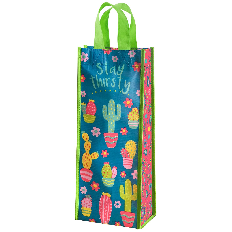 Cactus Wine Bag