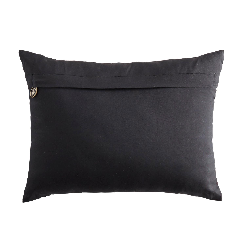Beaded Jack-O-Lantern Lumbar Pillow
