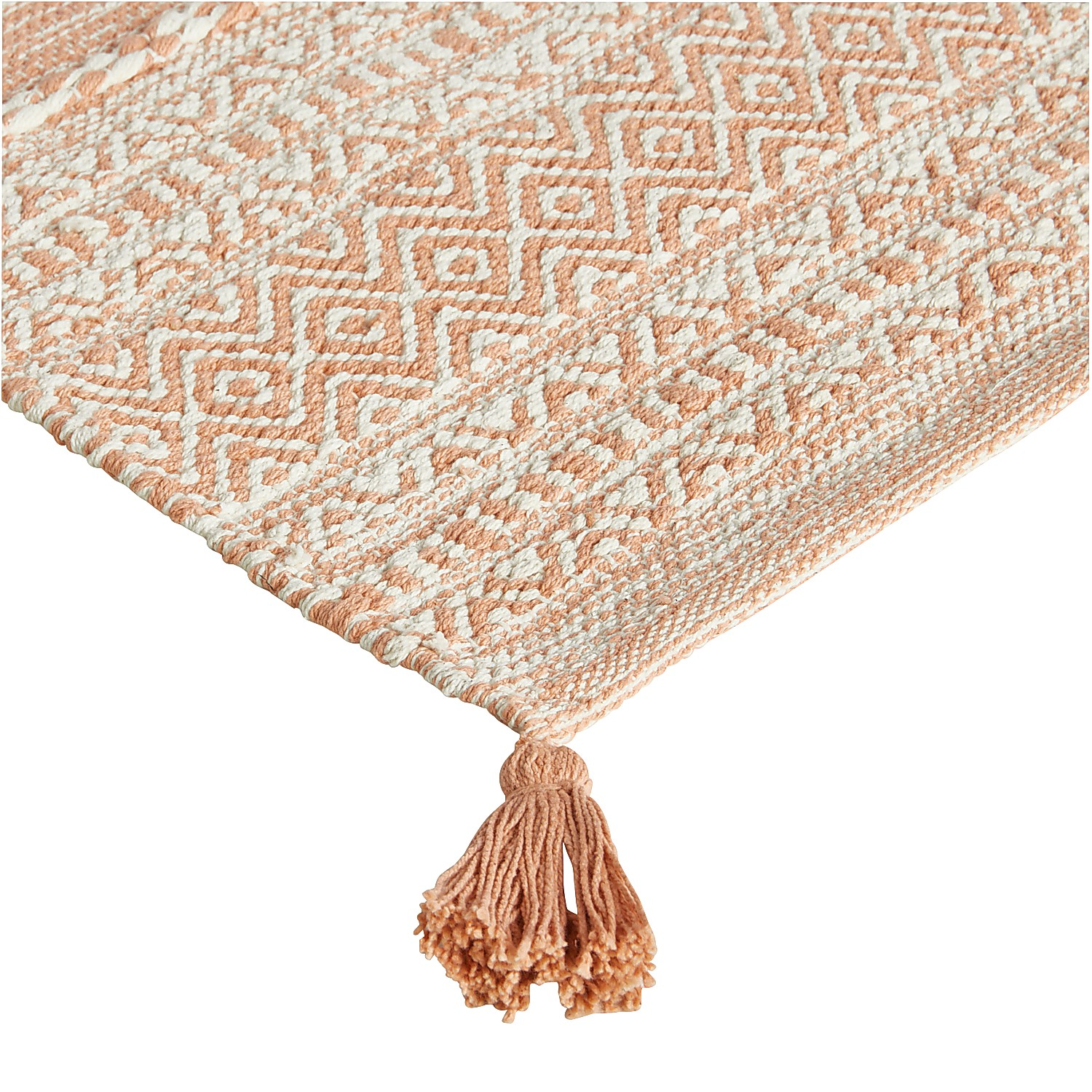 variation thumbnail of Blended Orange 2x3 Rug with Tassels