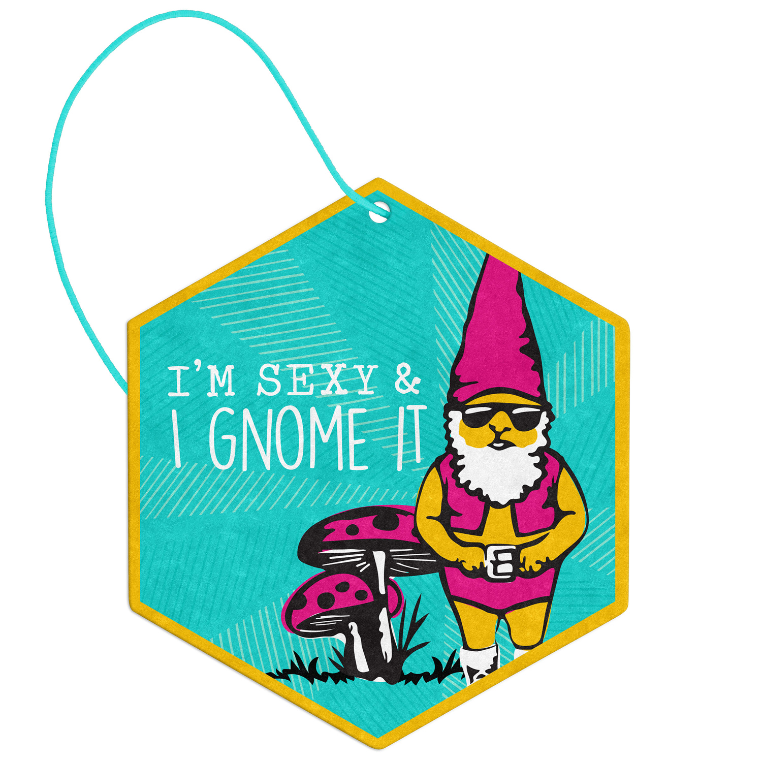 Gnome Vanilla Car Air Freshener