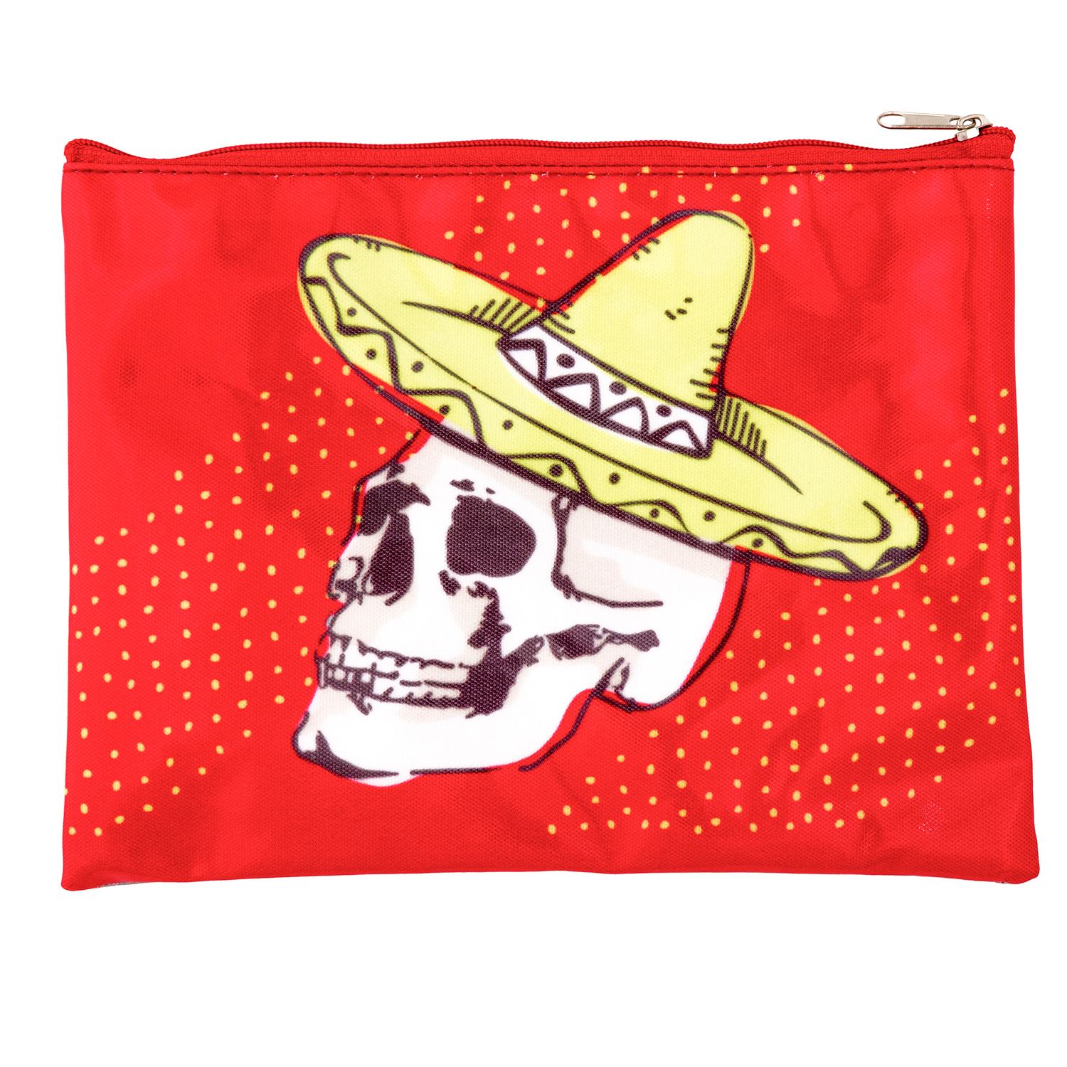 Skull Carry All Pouch