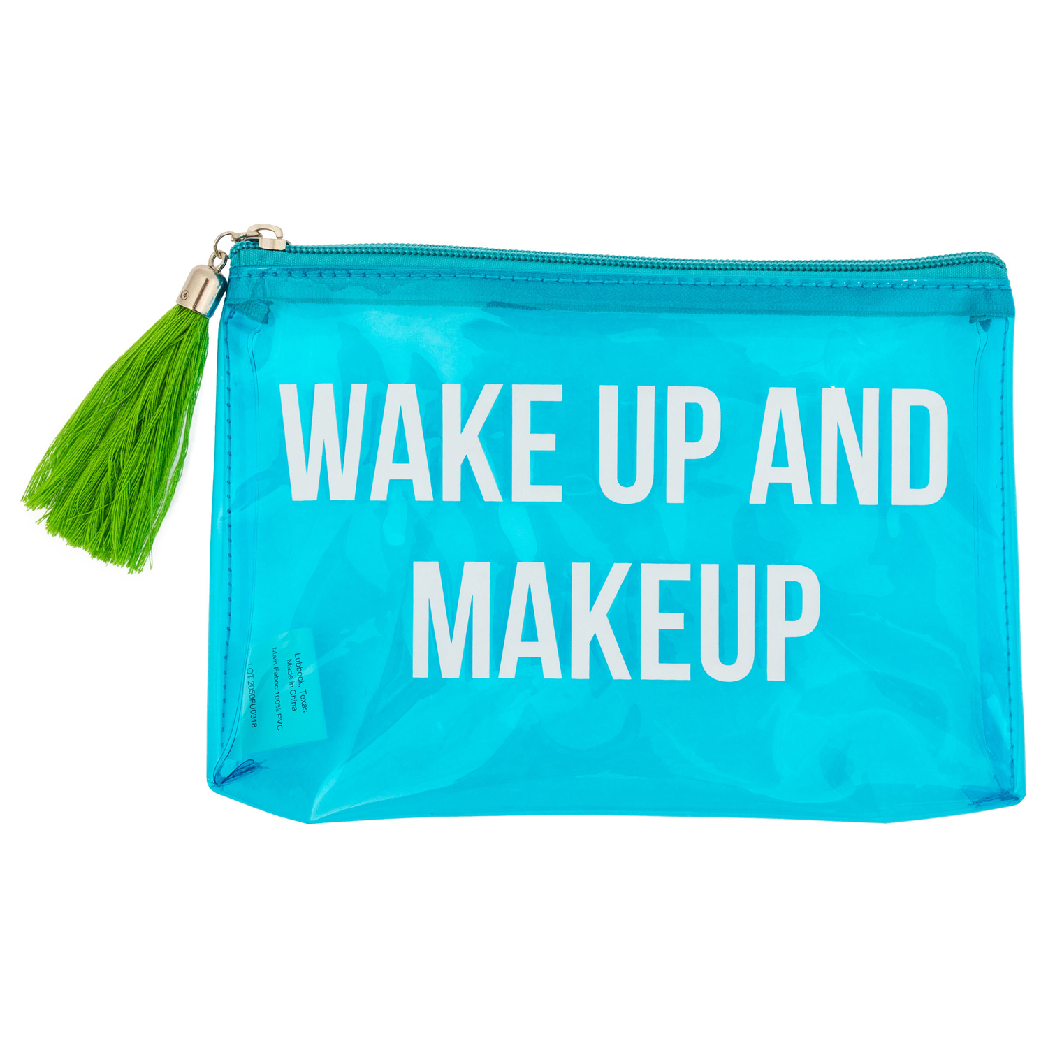 Wake Up & Make Up Carry All Pouch