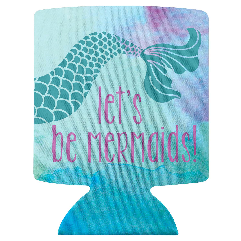 Nautical Mermaid Can Cooler