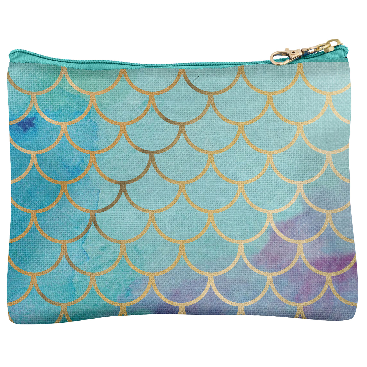 Nautical Mermaid Carry All Pouch