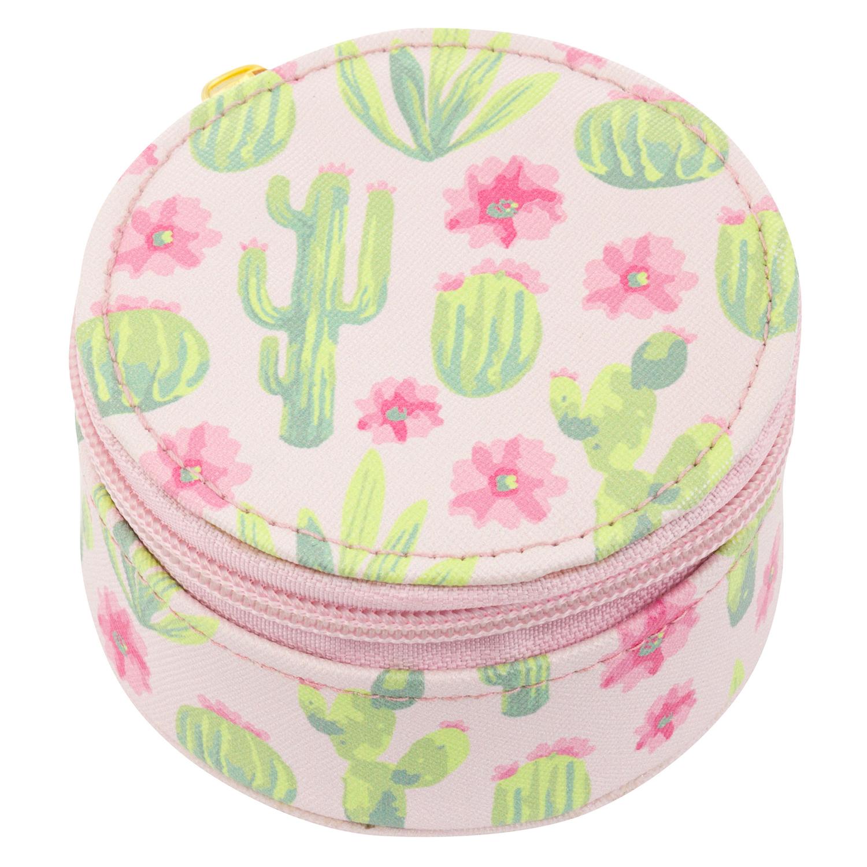 Cactus Round Travel Case