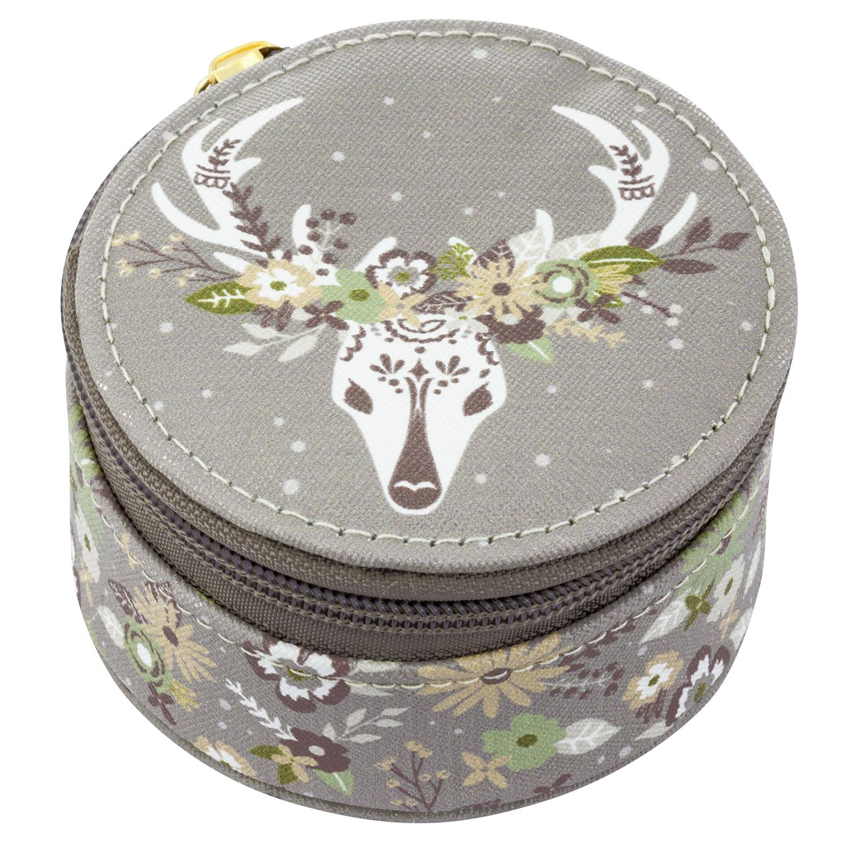 Deer Round Travel Case