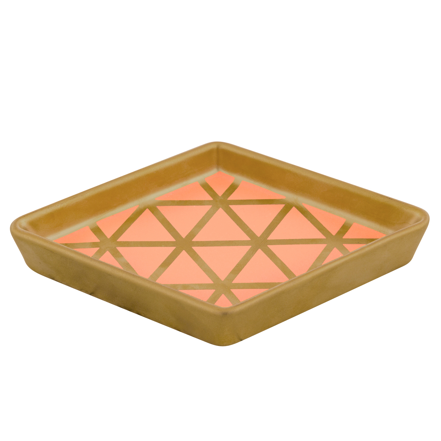 Coral Gold Rush Tray