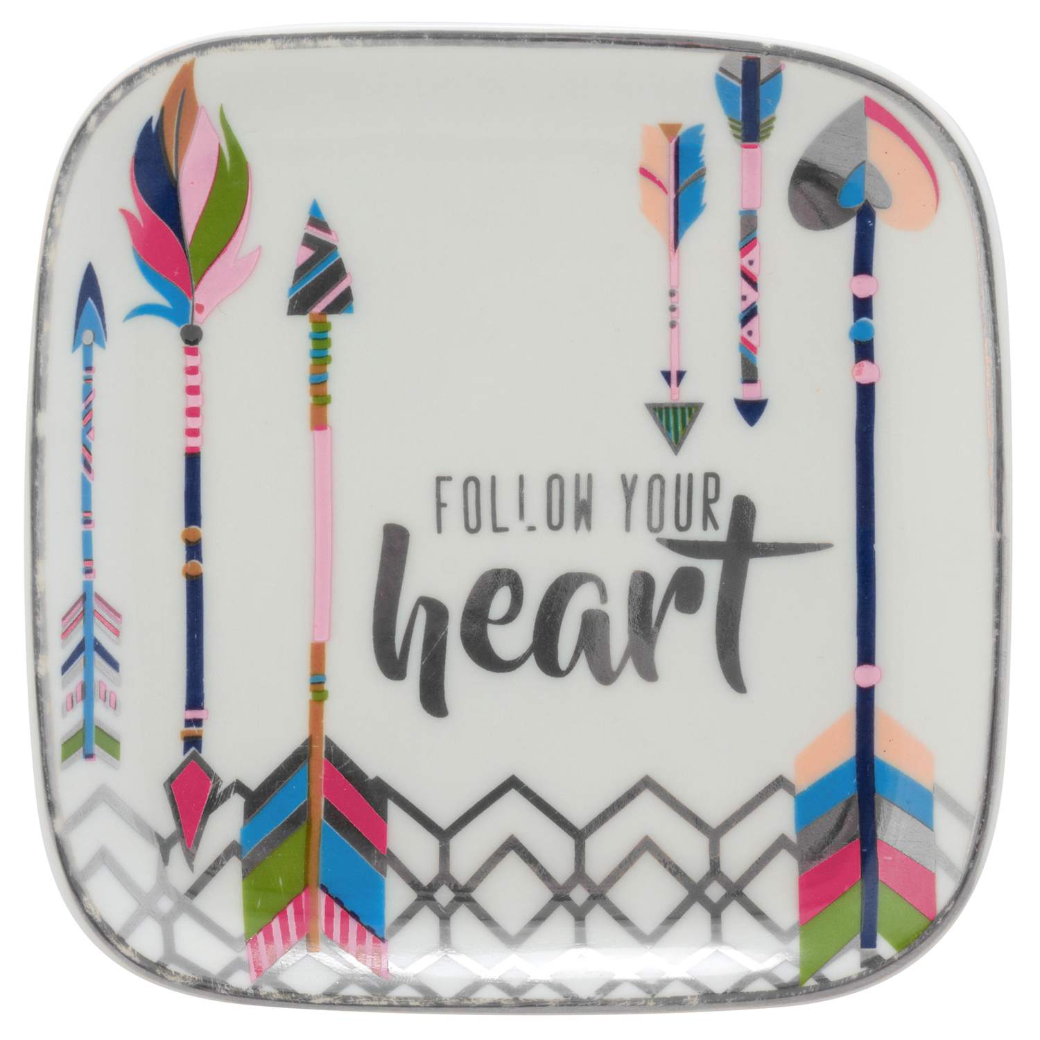 Follow Your Heart Trinket Tray