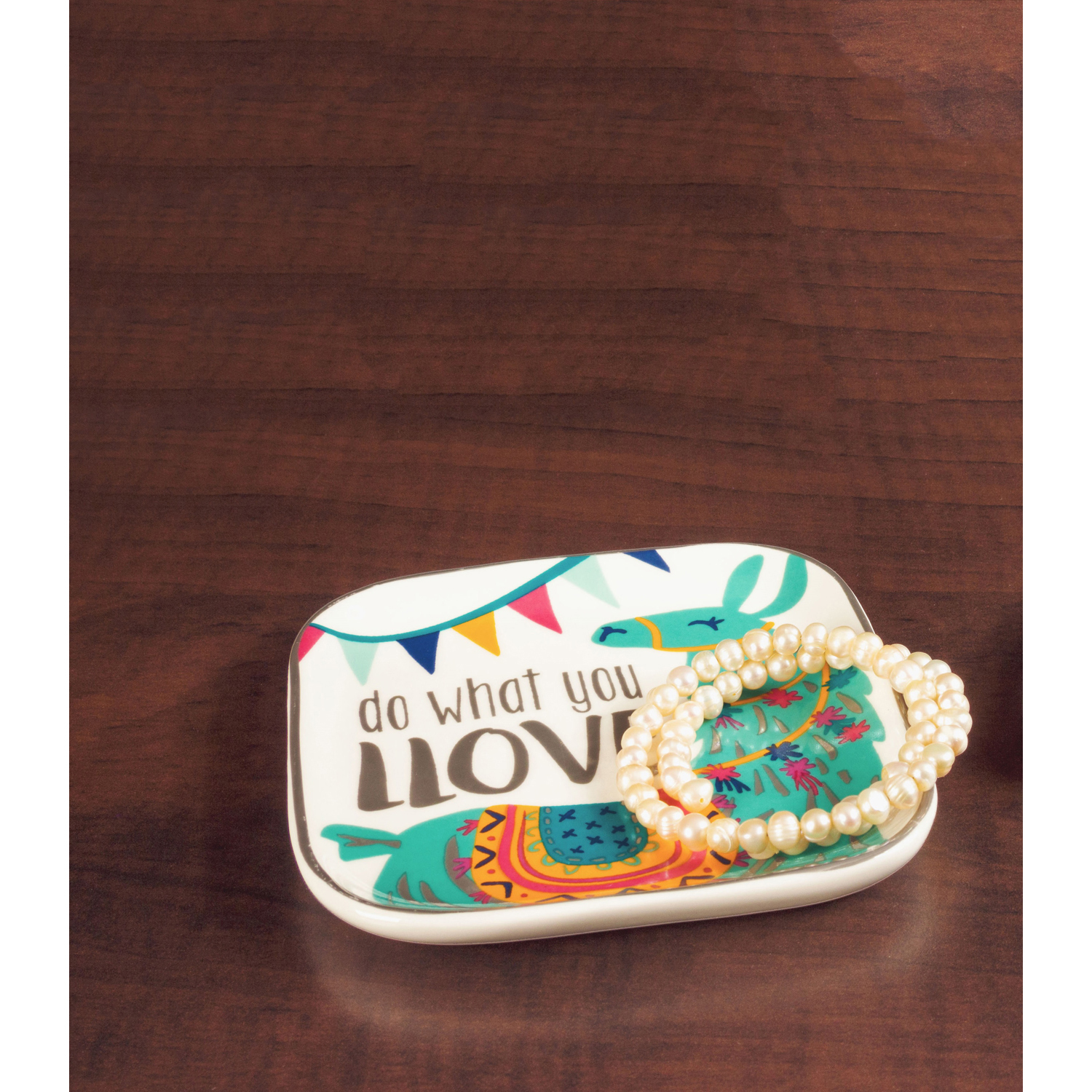 Do What You Love Trinket Tray