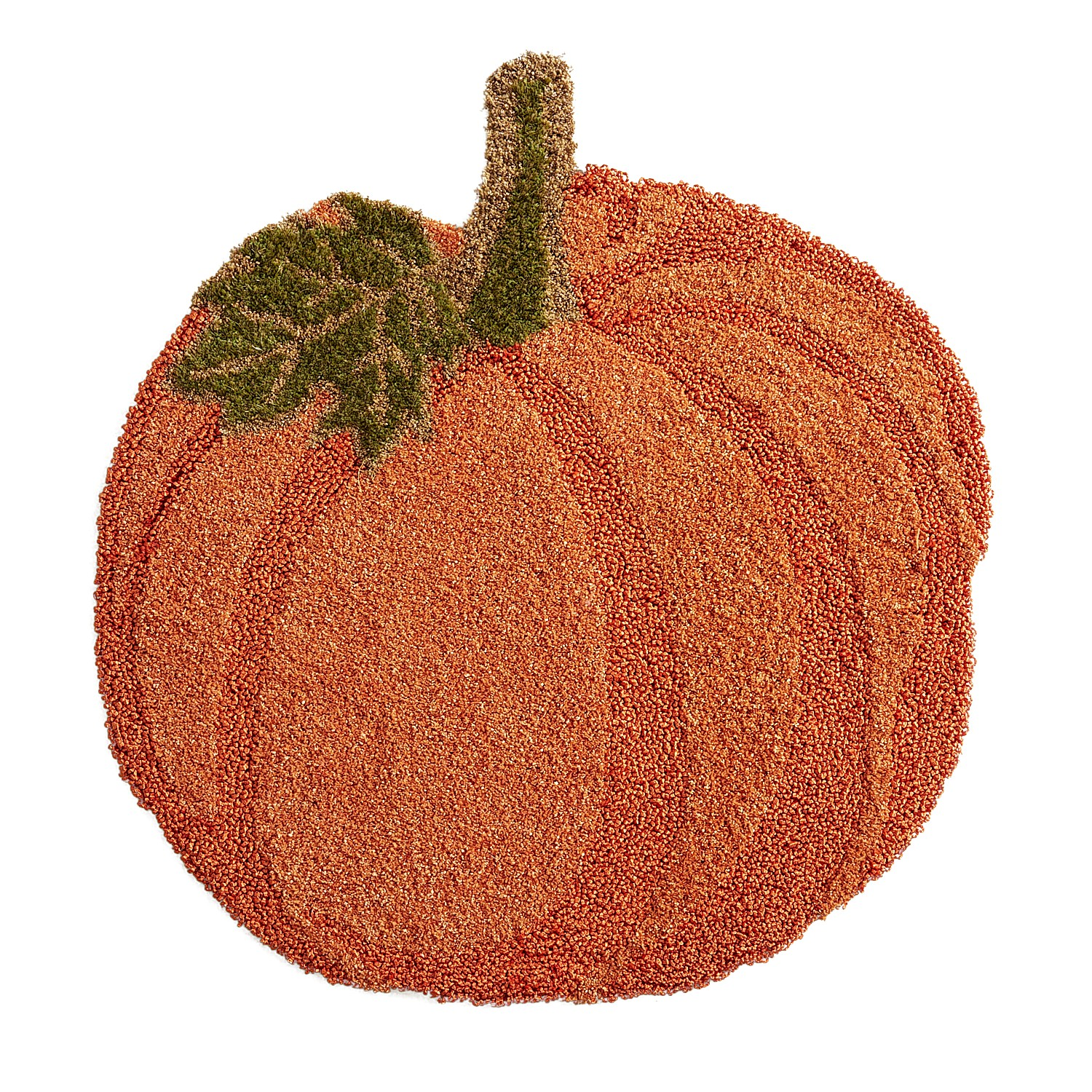 Pumpkin-Shaped Rug