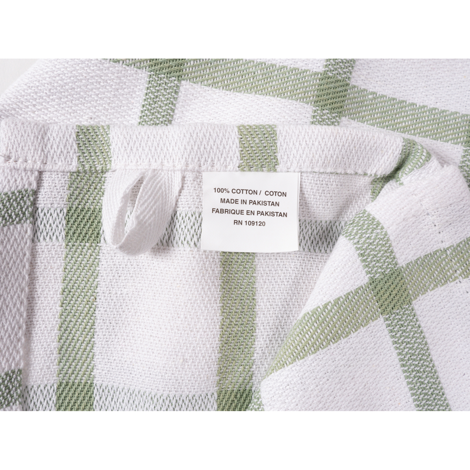 Sage Mixed Terry Kitchen Towel Set of 6