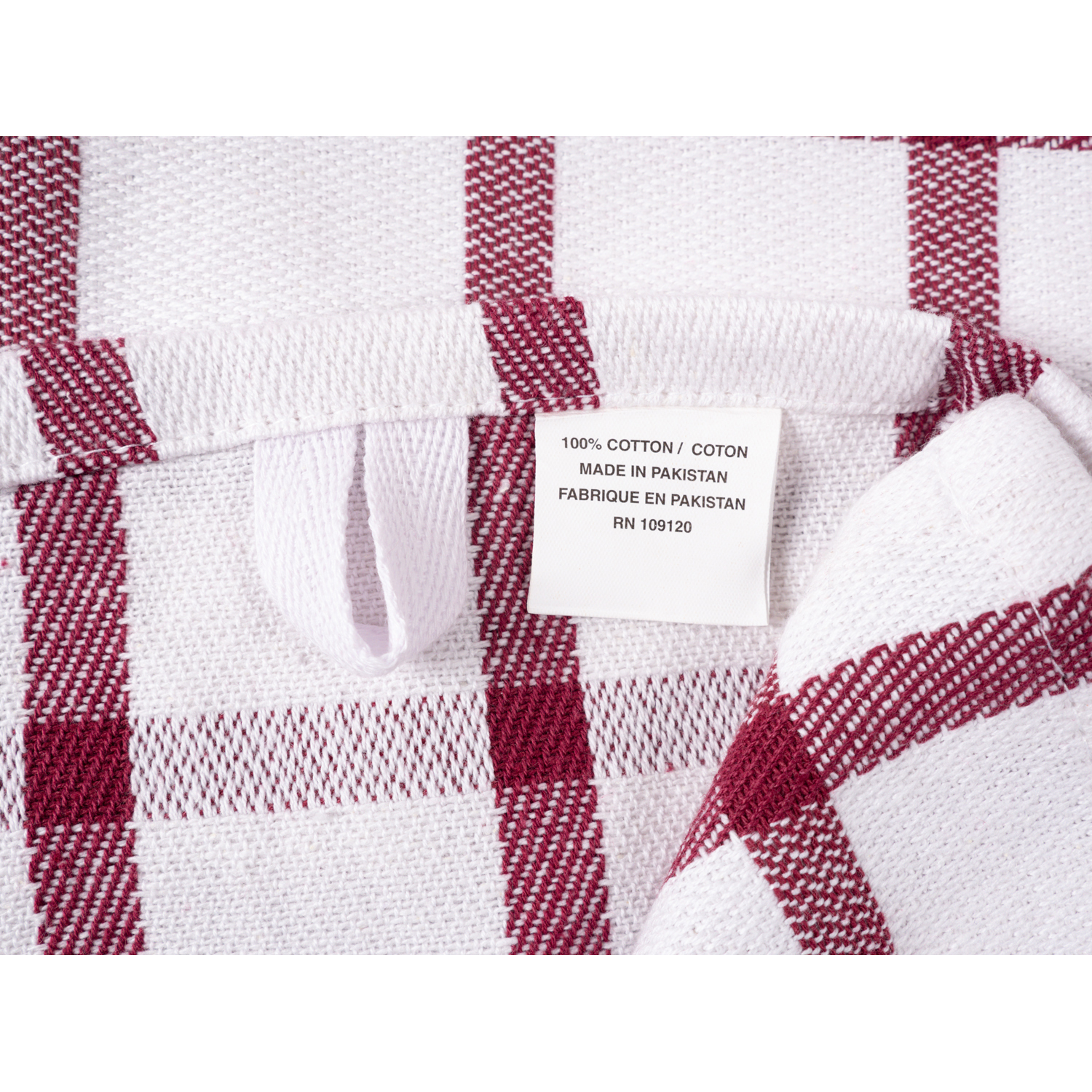 Wine Mixed Terry Kitchen Towel Set of 6