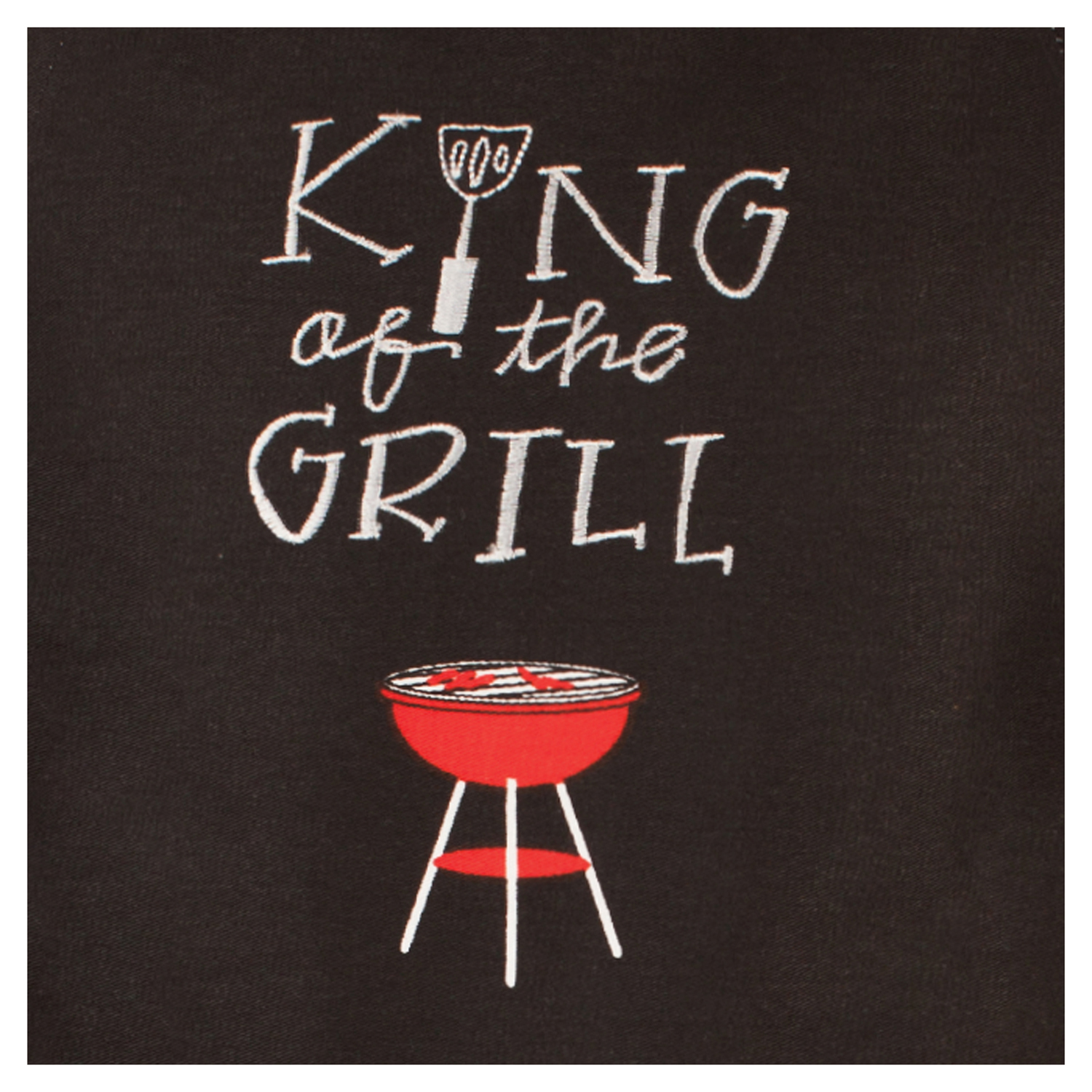 King of the Grill Apron & Oven Mitt Set