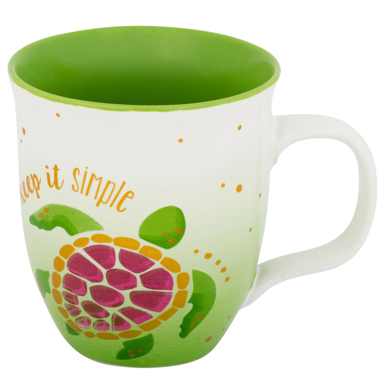 Keep It Simple Turtle Mug
