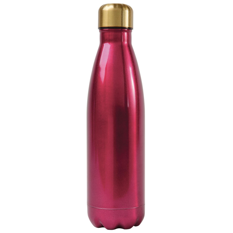 Fuchsia Stainless Steel Water Bottle
