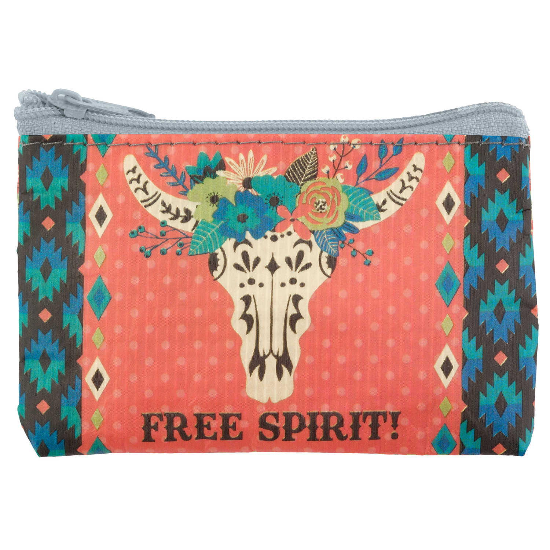 Longhorn Free Spirit Coin Purse