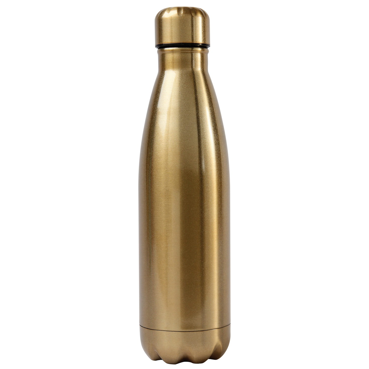 Gold Stainless Steel Water Bottle