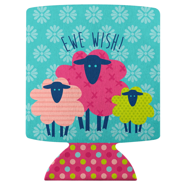 Ewe Wish Sheep Can Cooler