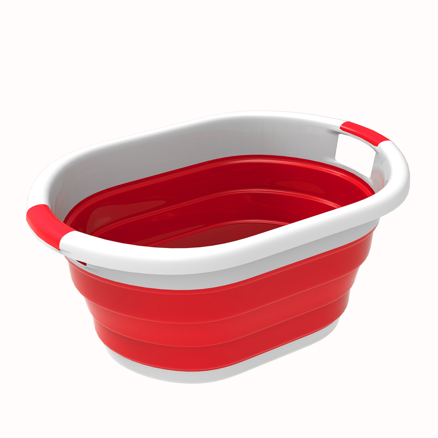 Red Multi Use Collapsible Wash Basin