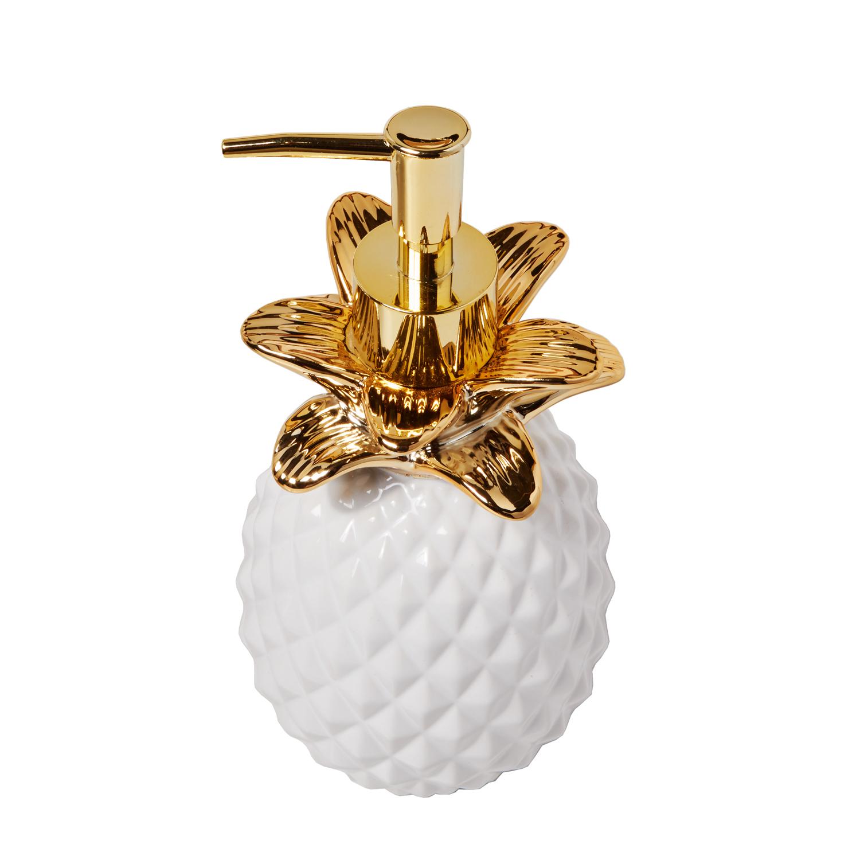 Golden Pineapple Lotion Dispenser