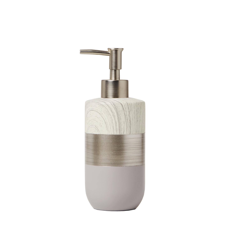 Modern Brushed Slate Lotion Dispenser