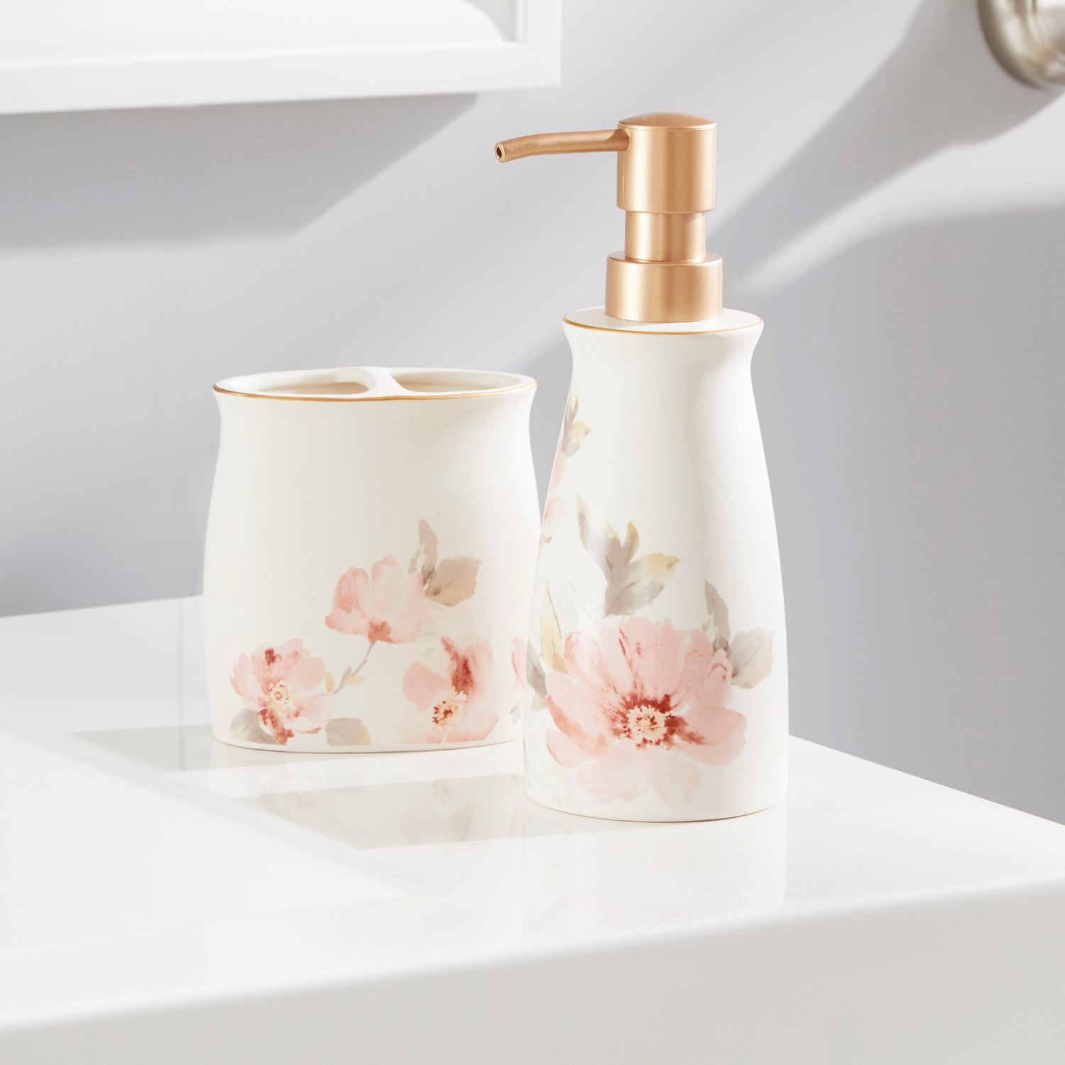 variation thumbnail of Soft Florals Lotion Dispenser