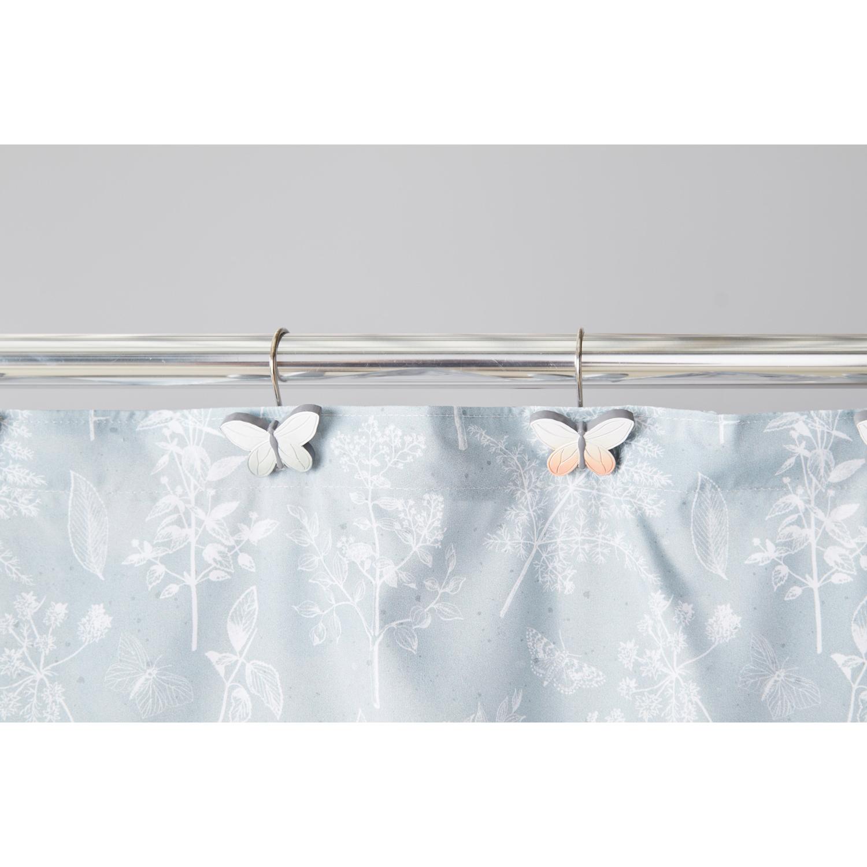 Natural Love Shower Curtain Hooks