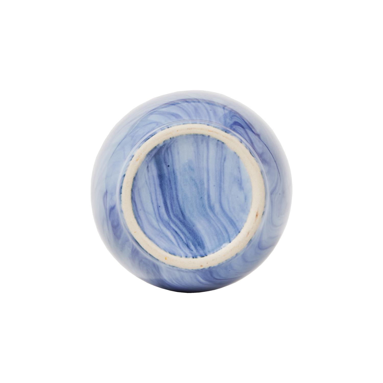 Swirl Blue Lotion Dispenser