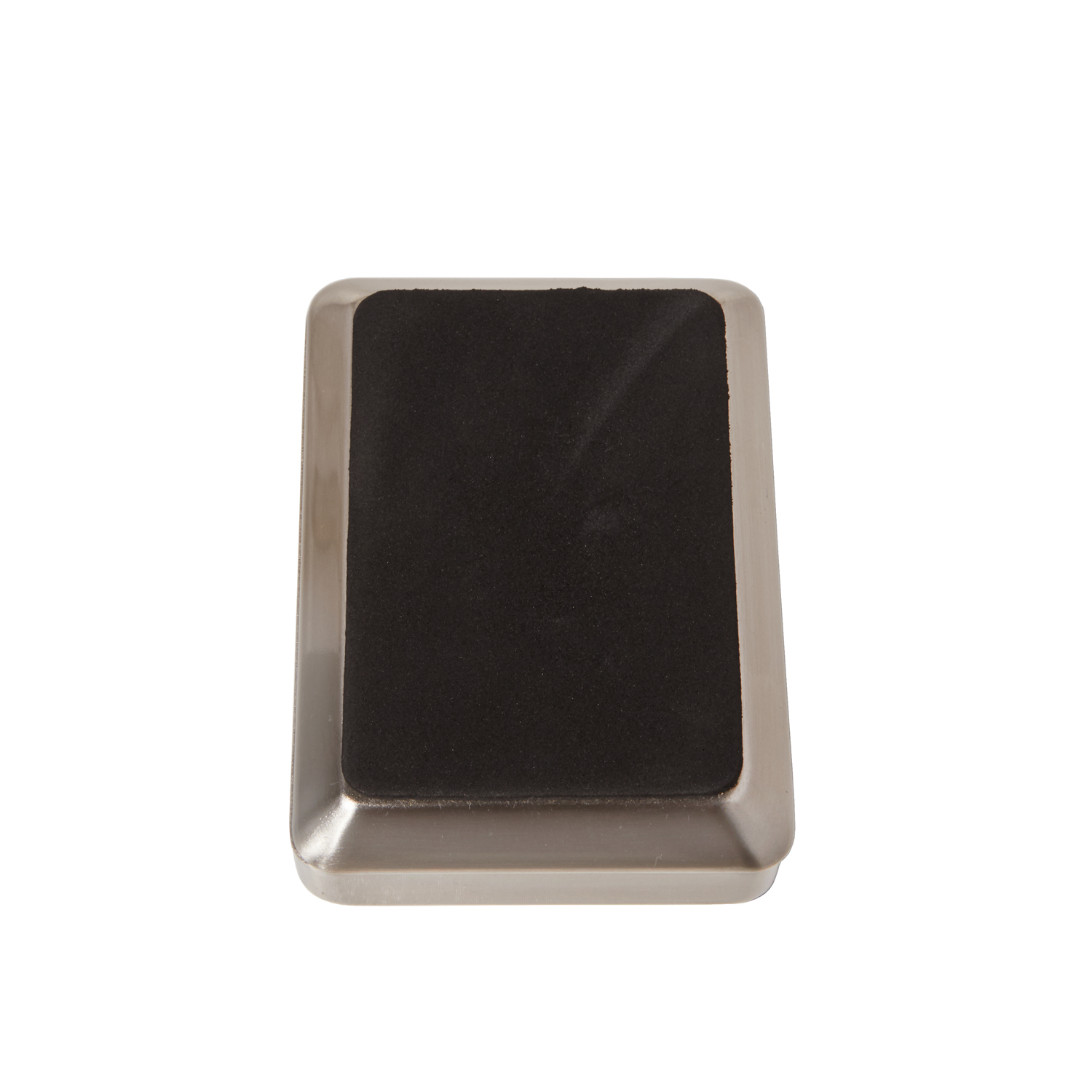 Sleek Nickel Soap Dish
