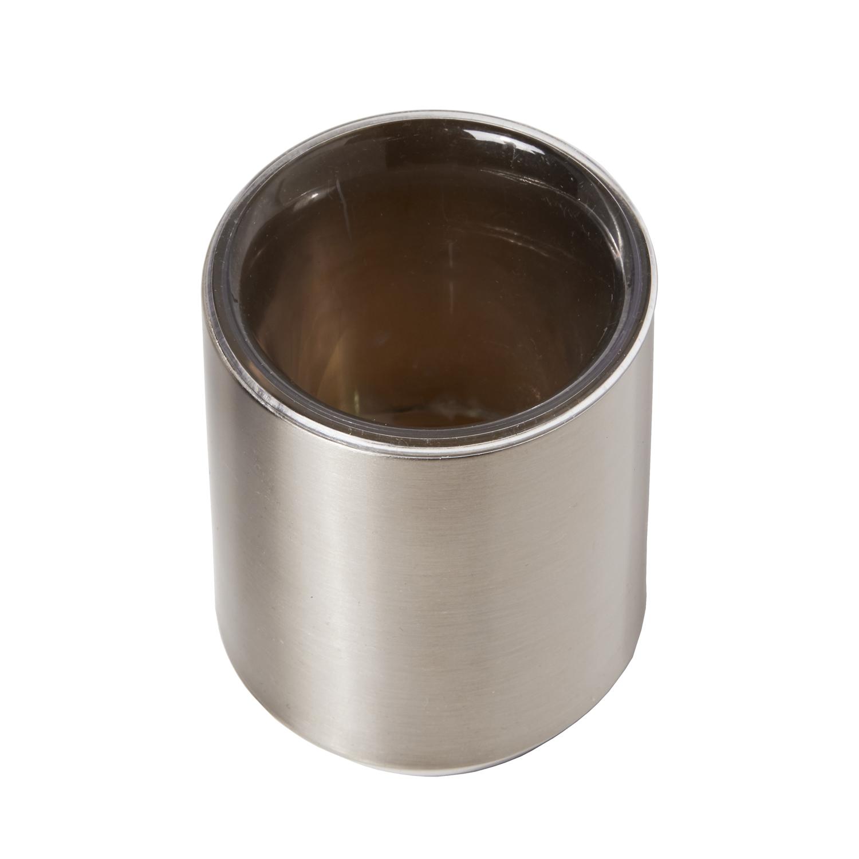 Sleek Nickel Tumbler