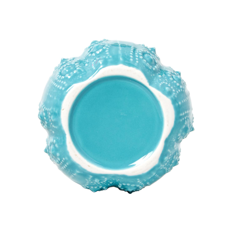 South Seas Turquois Resin Cotton Jar