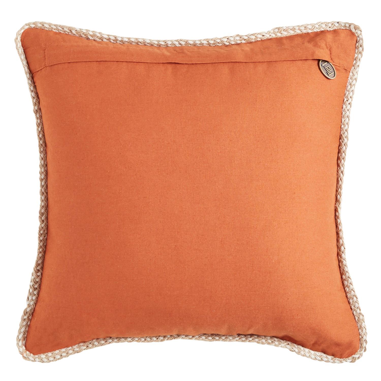 Chunky Jute Pumpkin Pillow