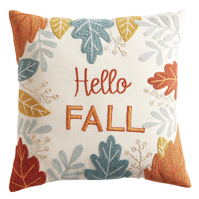 Hello Fall Harvest Pillow