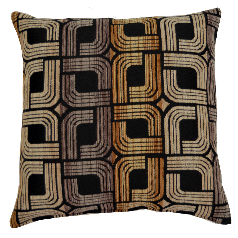 Elway Black Pillow