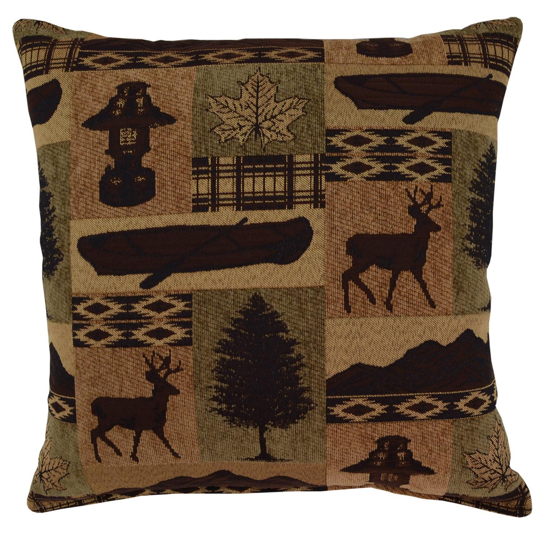 Medora Evergreen Pillow