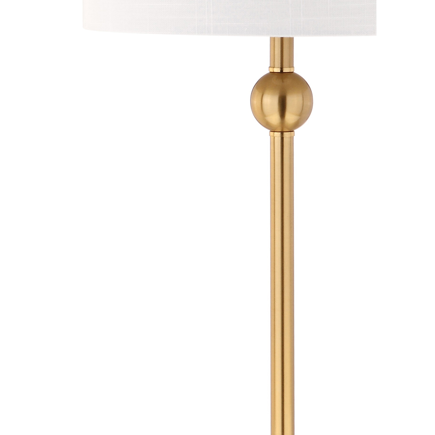 Modern Brass Table Lamp Set of 2