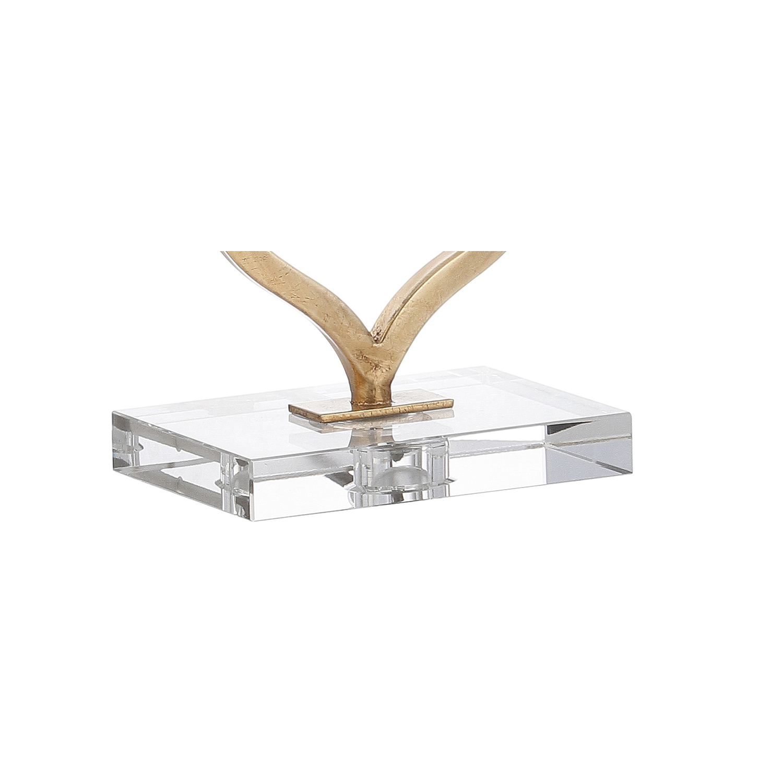 Golden Motif Table Lamp