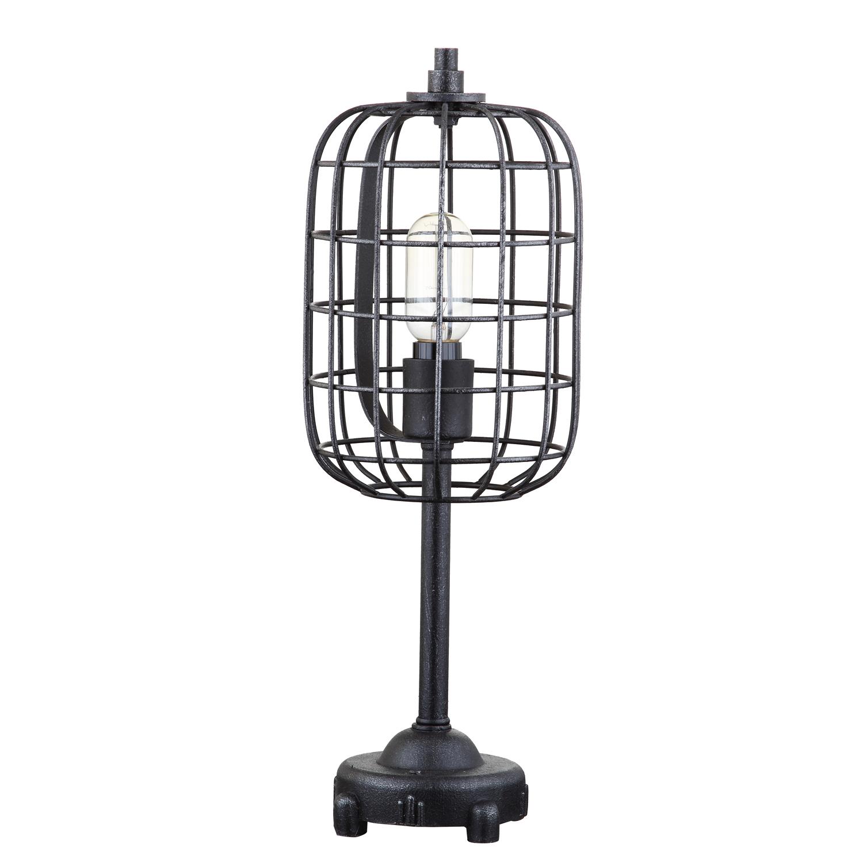 Harley Industrial Black Table Lamp