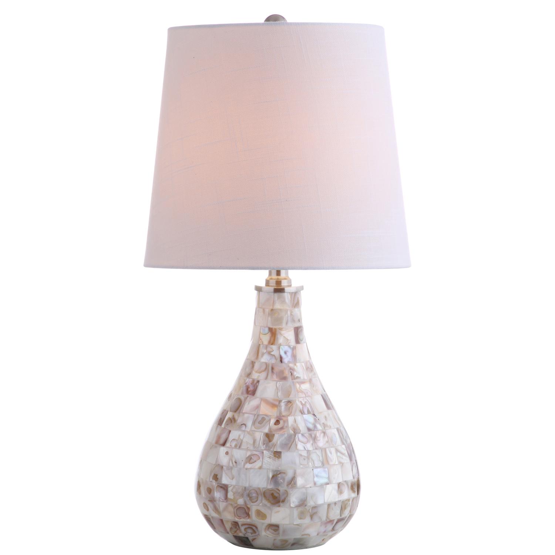 Mosaic Seashell Table Lamp