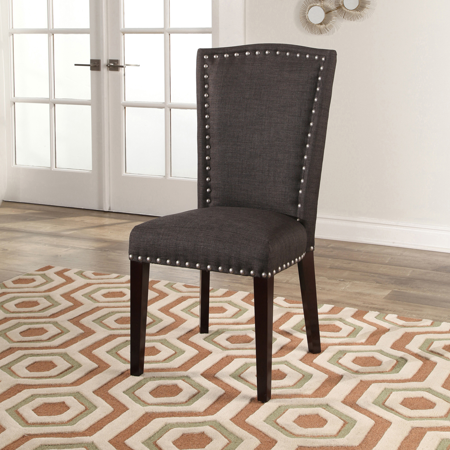 Michael Charcoal Gray Dining Chair