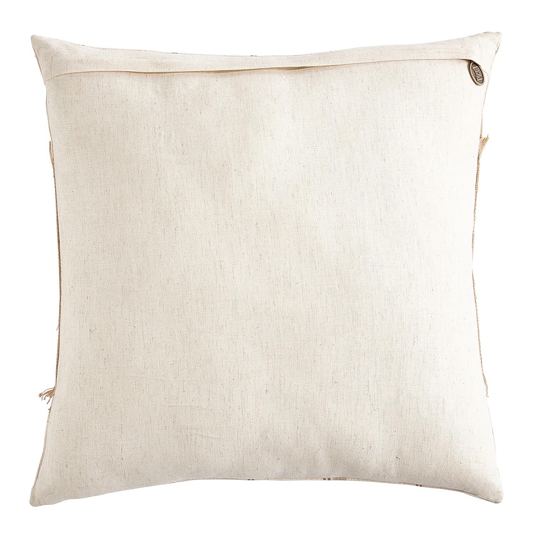 Thankful Striped Pillow