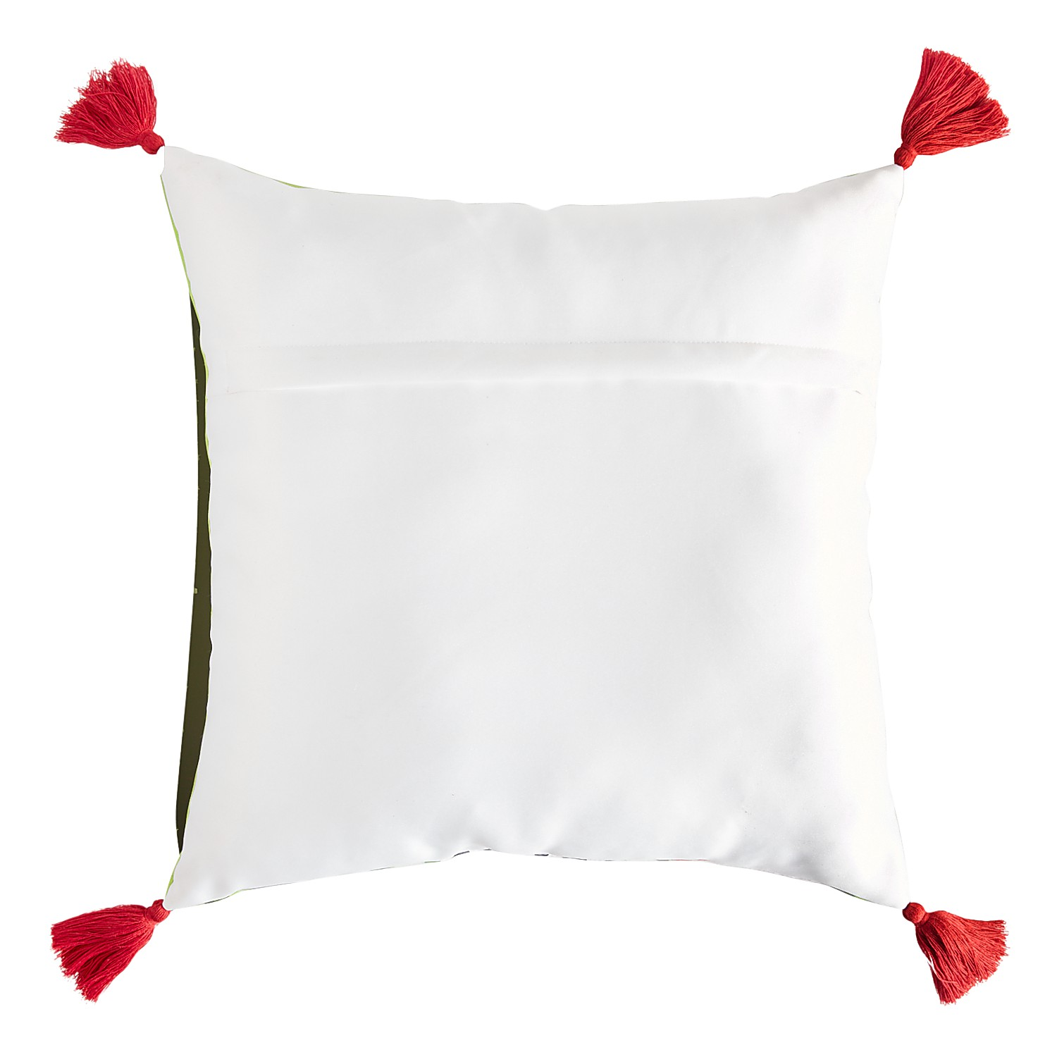 Cat Hats Pillow with Tassels